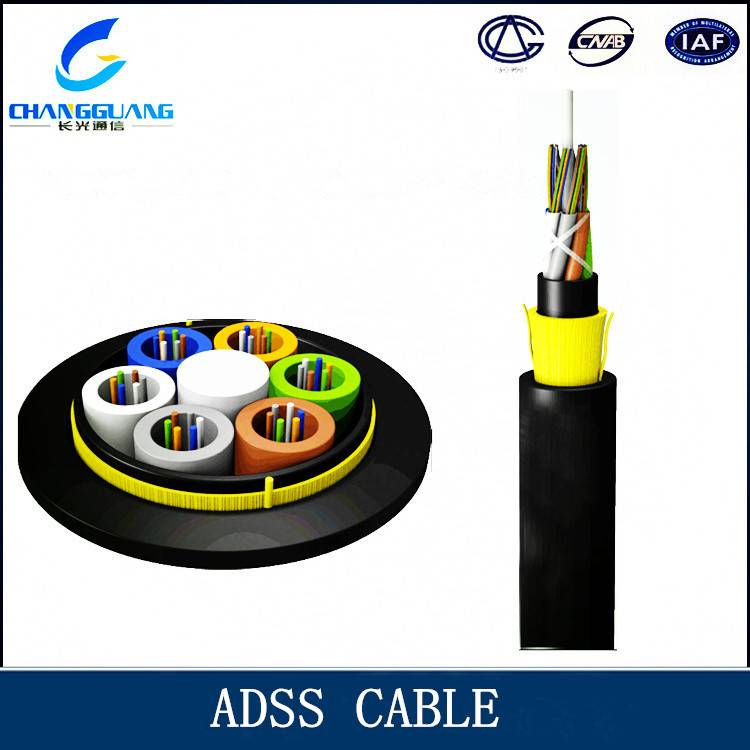 ADSS All Dielectric self Supporting Aerial optic cable
