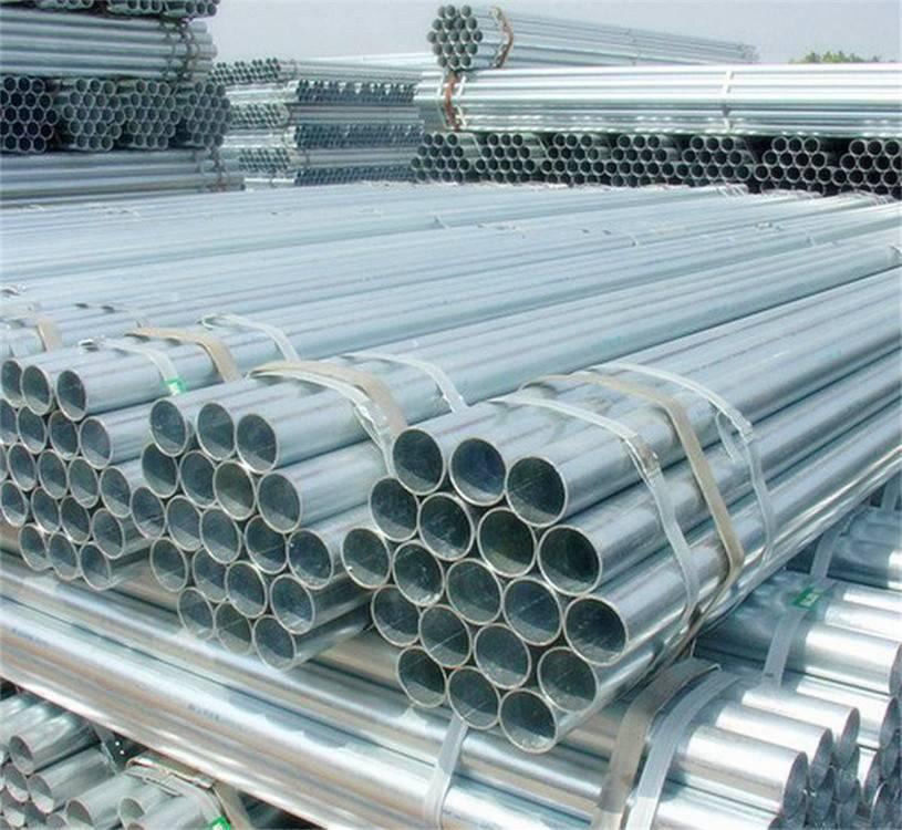 ERW Carbon Hot DIP Galvanized Round Steel Pipe
