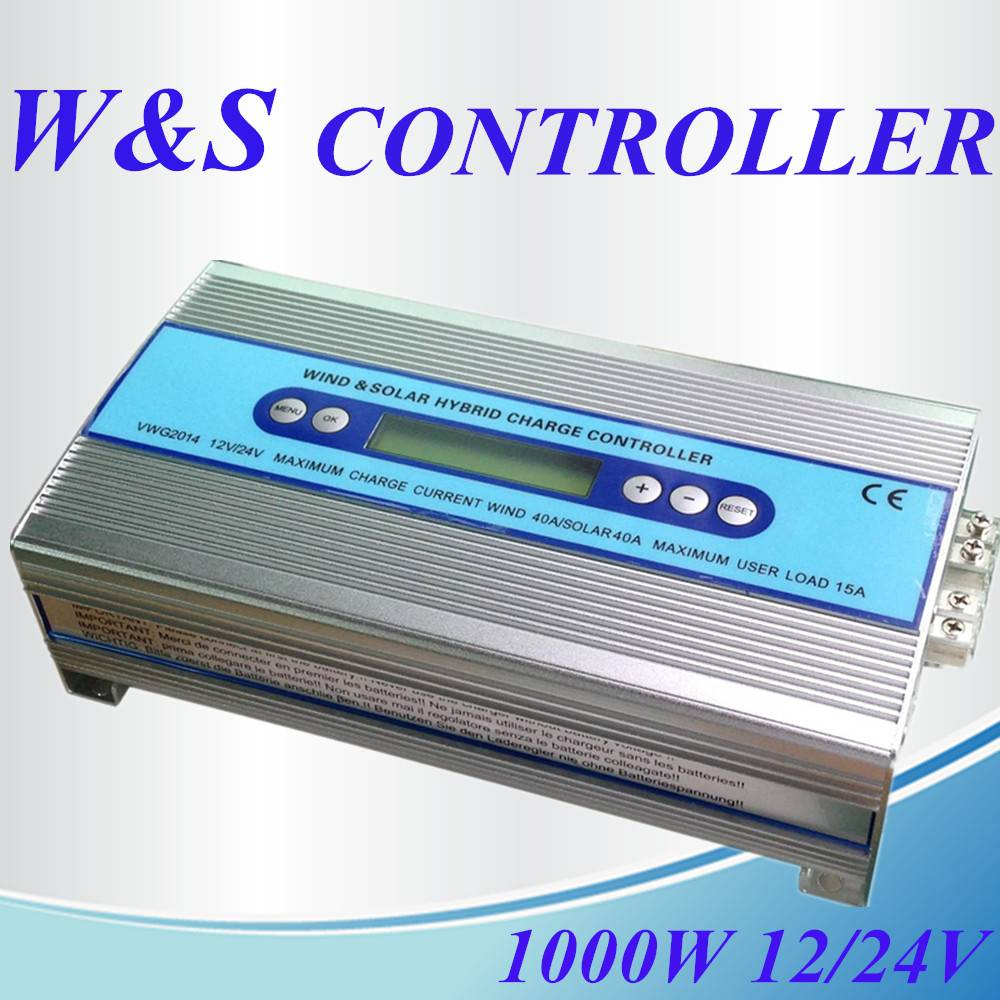 Solar wind generator charge controller 1000W for wind turbine and solar panel