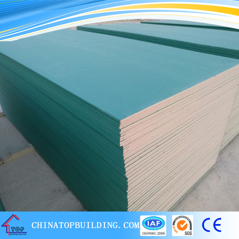 Waterproof /water resistant gypsum board