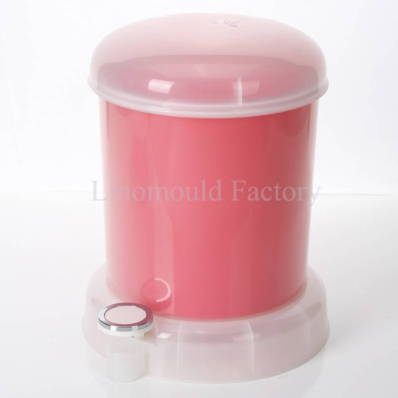 plastic wastebin mould / customizable mould /plastic injection mould/