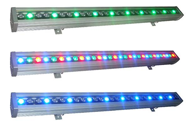 30w RGB colorful led wash wall