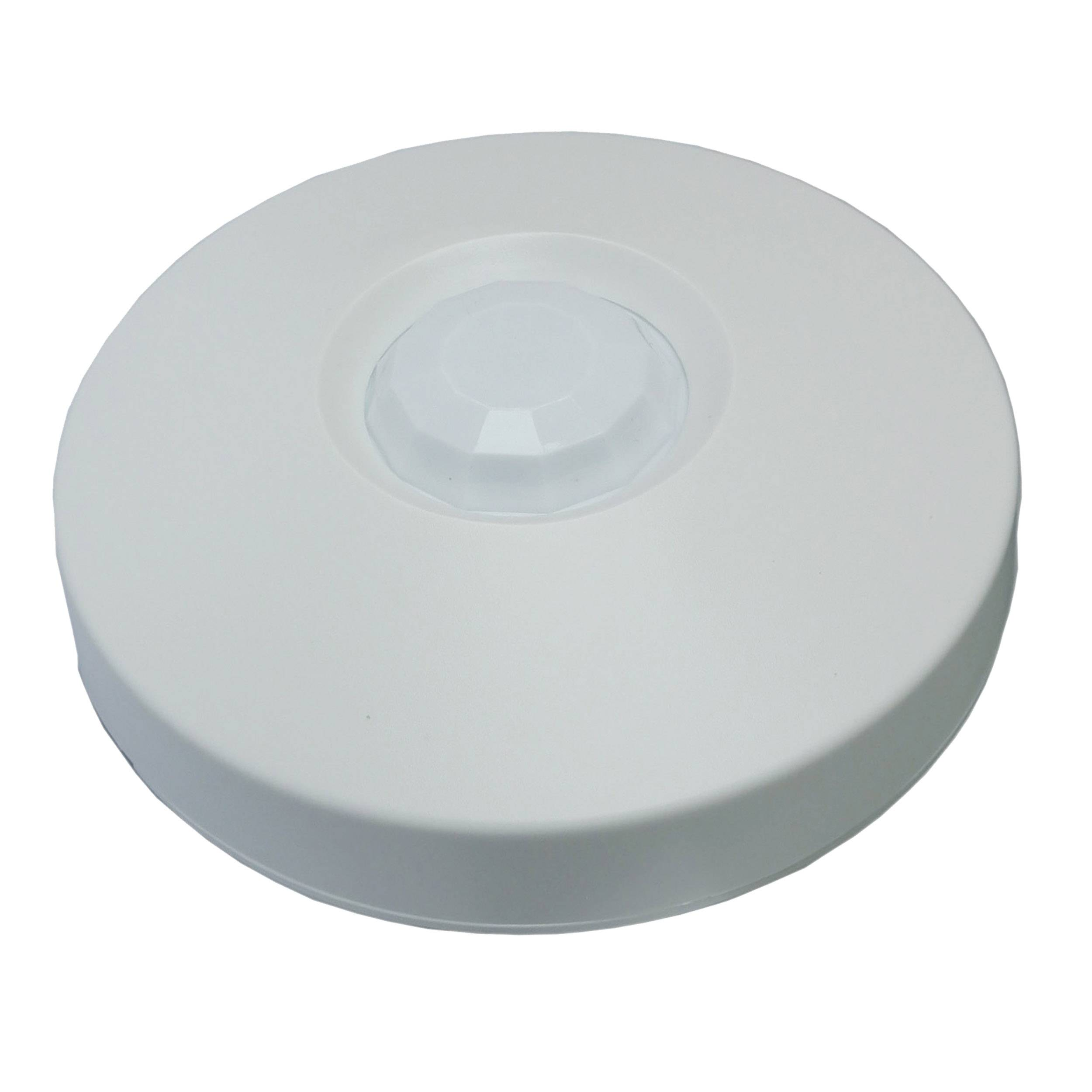 Ceiling mount MW+PIR motion detector with and/or selection