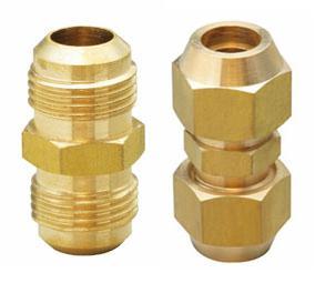 Brass Flare Union (brass fitting, brass union)