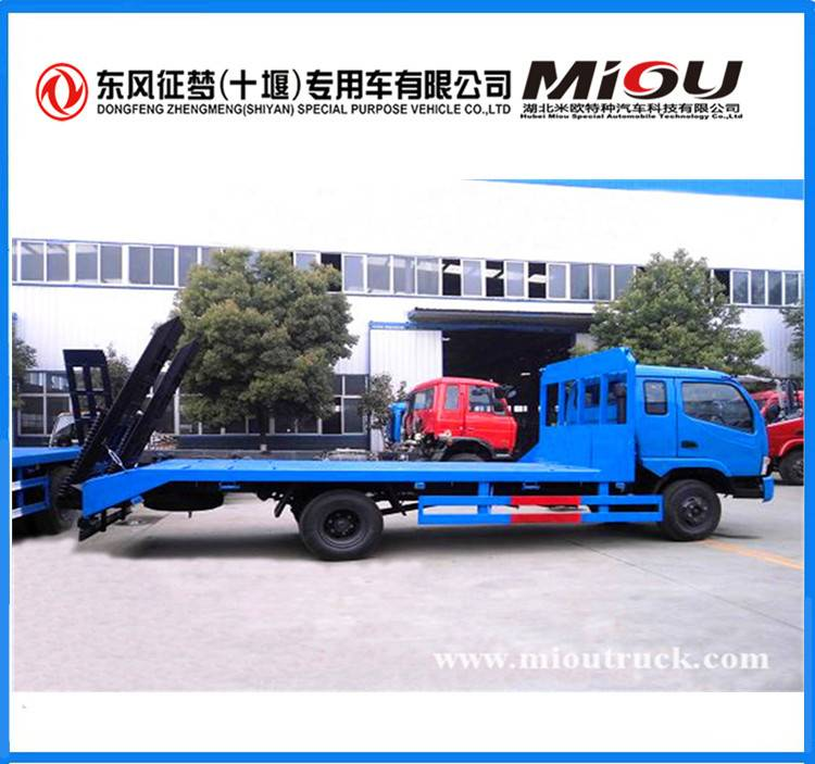 Dongfeng 4x2 2ton Mini Flat Truck for sale