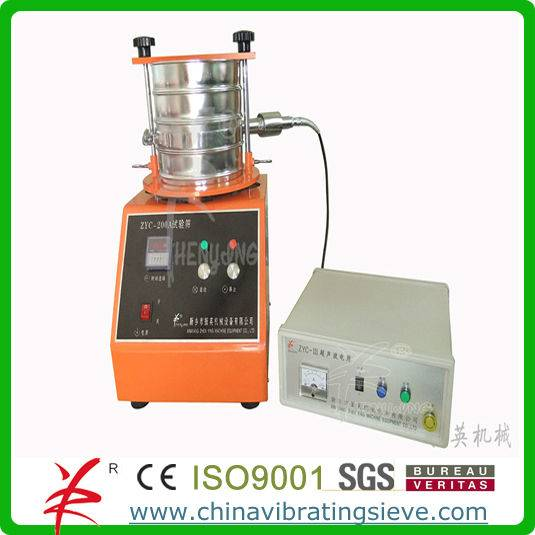Fully stainless steel micron laboratory sieve shaker test machine
