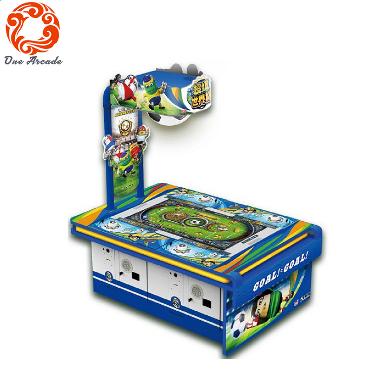 coin operated Go Go Soccer tickets redemption game machine