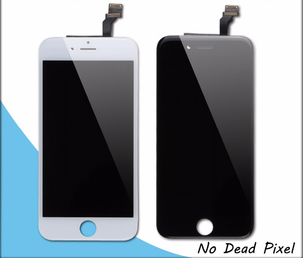 Repair cracked LCD screen refurbishment service for iphone 6, for iphone 6 LCD touch screen repair