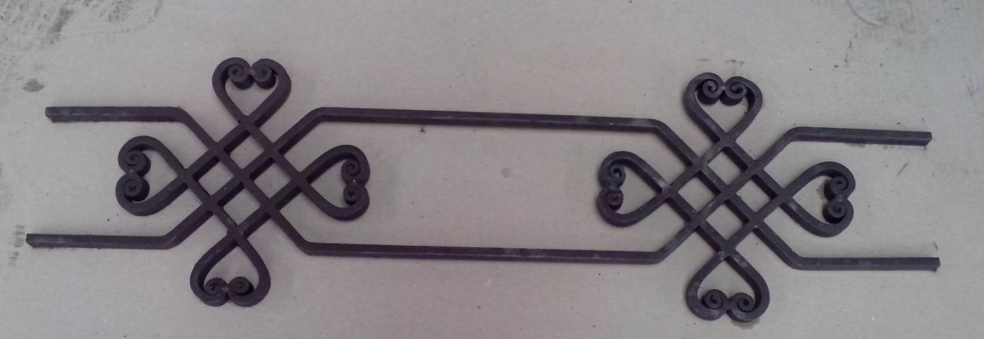 wroughe iron cast steel