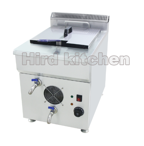 Oil and water separation electric fryer HOW-20V