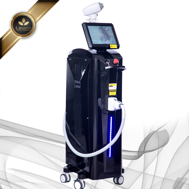 3 wavelength 808+755+1064 diode laser hair removal equipment /808nm diode laser hair removal machine