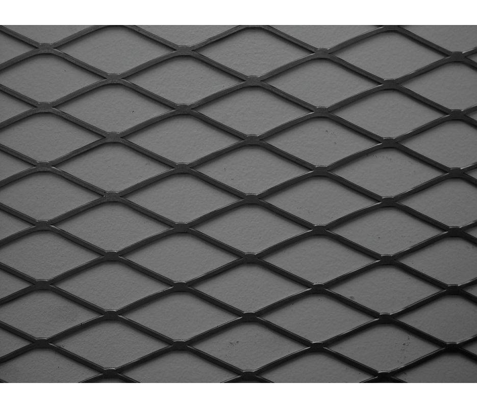 Heavy duty Low carbon steel Sheet stretching Pressing Welding Expanded Metal Mesh