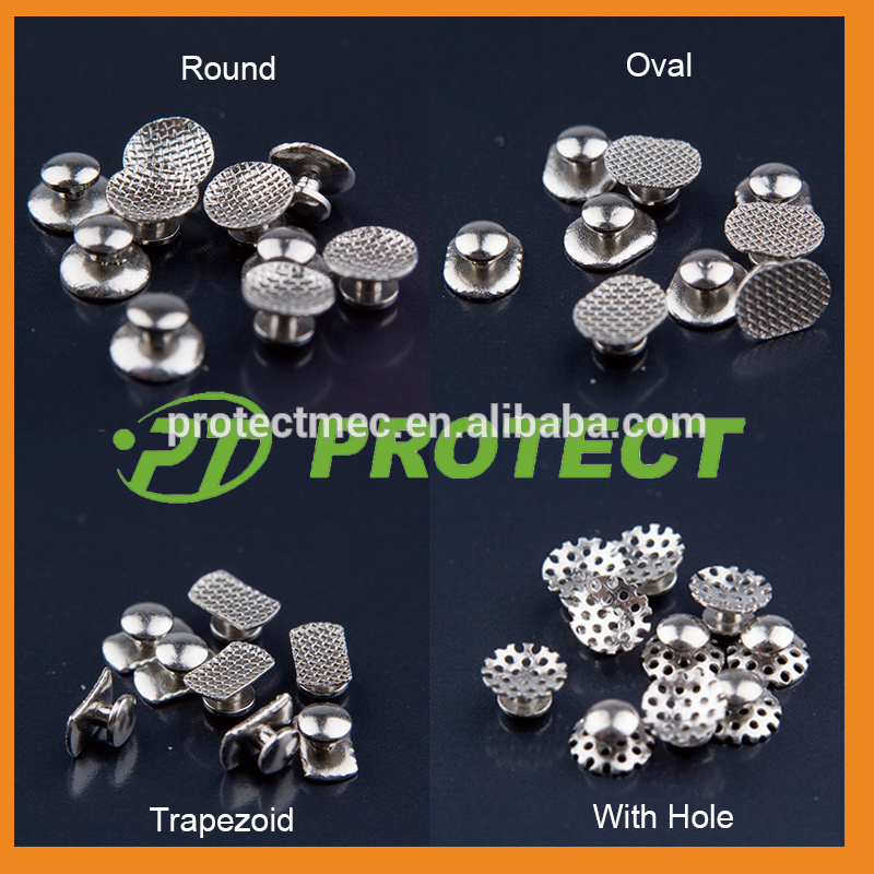 Dental new arrive stainless steel orthodontic lingual button