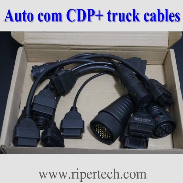 Factory offer Auto CDP Plus pro truck 8pcs cables
