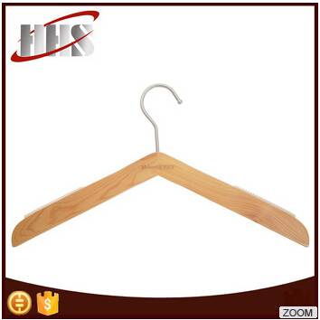 Wholesalen Garment Shirt Wooden Clothes Hanger