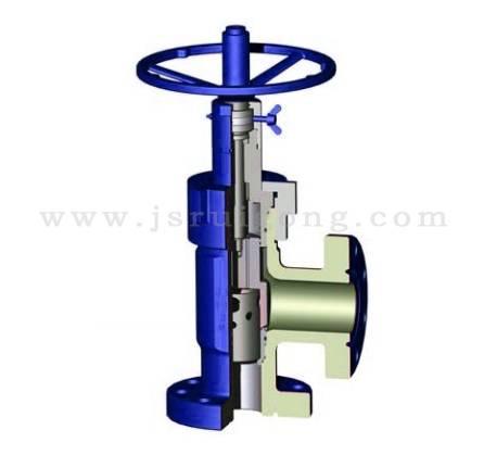 Adjustable choke valve