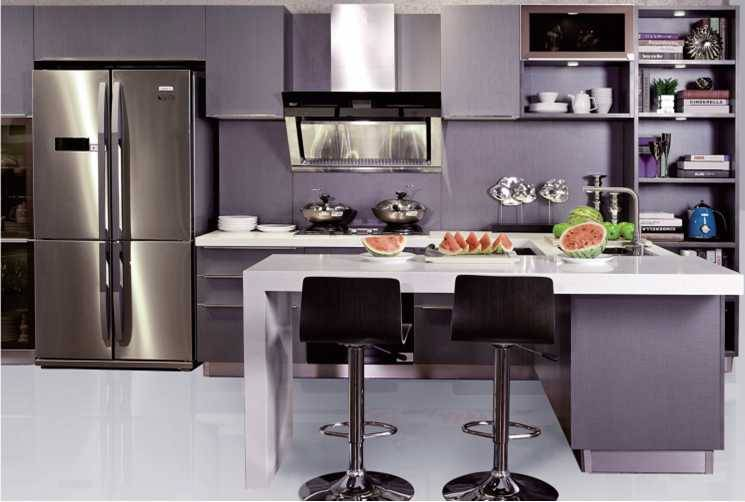 Bristo,Melamine Board Kitchen Cabinet