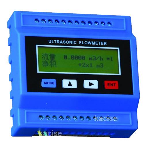 Functional ultrasonic digital sea water flow meter