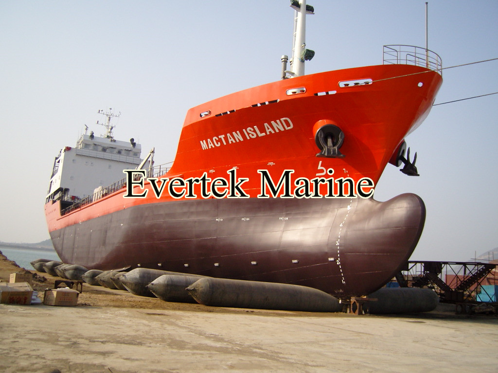 Evertek marine rubber inflatable airbag