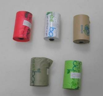 100% biodegradable dog poop bags