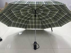 21 inch 3 fold auto lattice umbrella