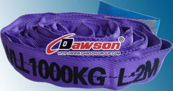 WLL 1Ton Polyester Endless Round Slings