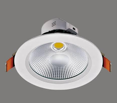 CRI Ra85 95lm/W aluminium with glass COB 30W led down light Led shop light led spot light  led   cei