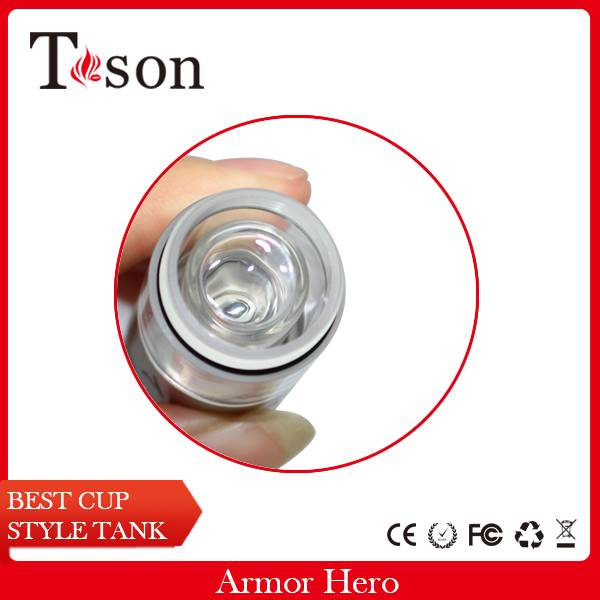 2015 new and hot vapor mod Armor Hero atomizer clearomizer