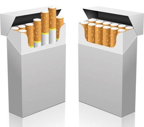 cigarette box for storage,paper disposable cigarette box