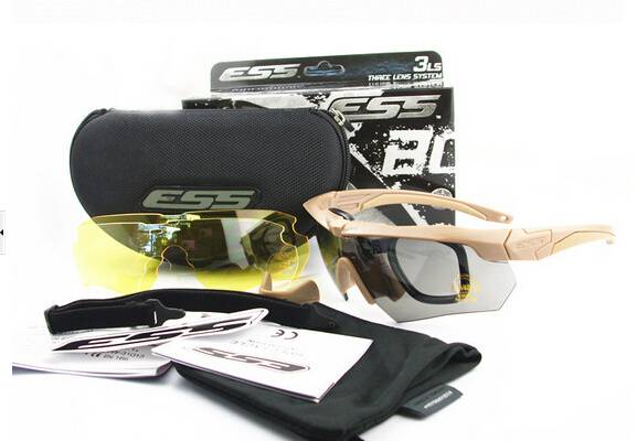 Tactical ESS crossbow glasses outdoor eye protection