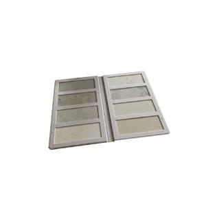 Quartz sample display binder