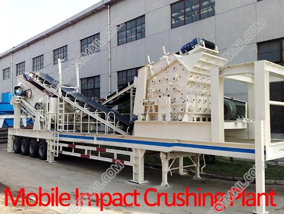 Mobile Impact Crushing Plant