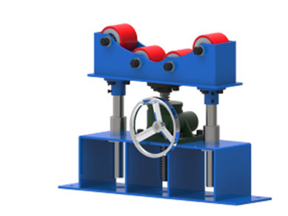 TG-600A Supporting RollerPipe Turning Rollers Supplier fit up roller bed station
