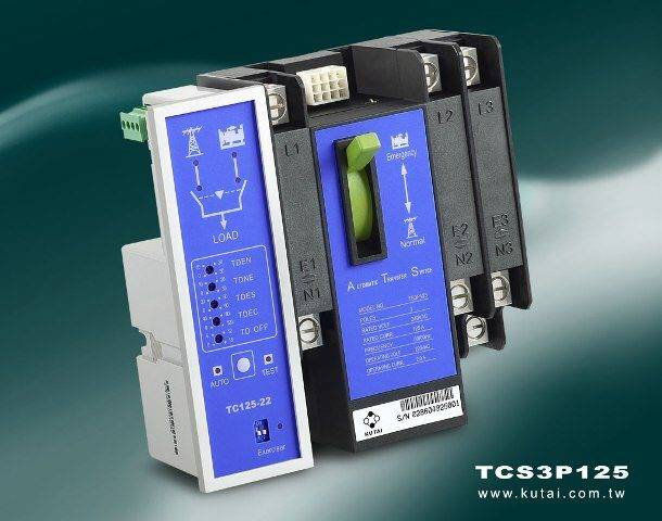 Residential Automatic Transfer Switch 3P 125Amp