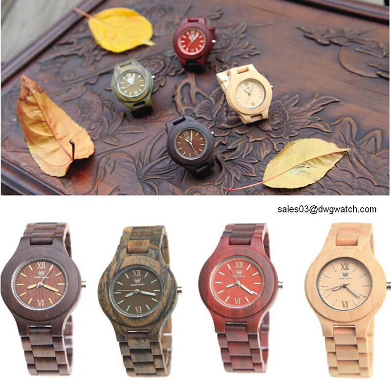 High Quality New Design Fashion Wood Watch