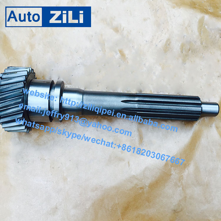 High precision china manufacture truck and bus qijiang gearbox transmission gearbox S6-90 input shaf