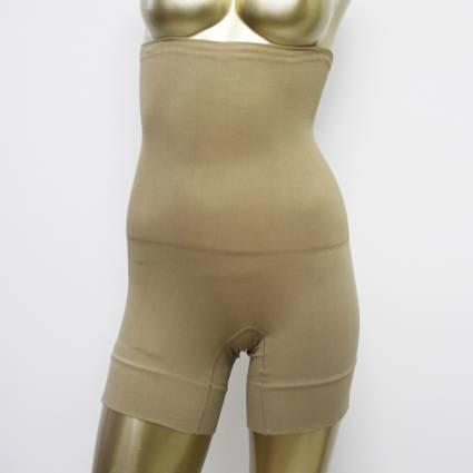 Seamless women's high waist slimming hip up body shaper shorts underwear