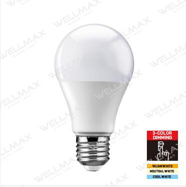 WELLMAX Segmented Color LED Bulb-Classic Series