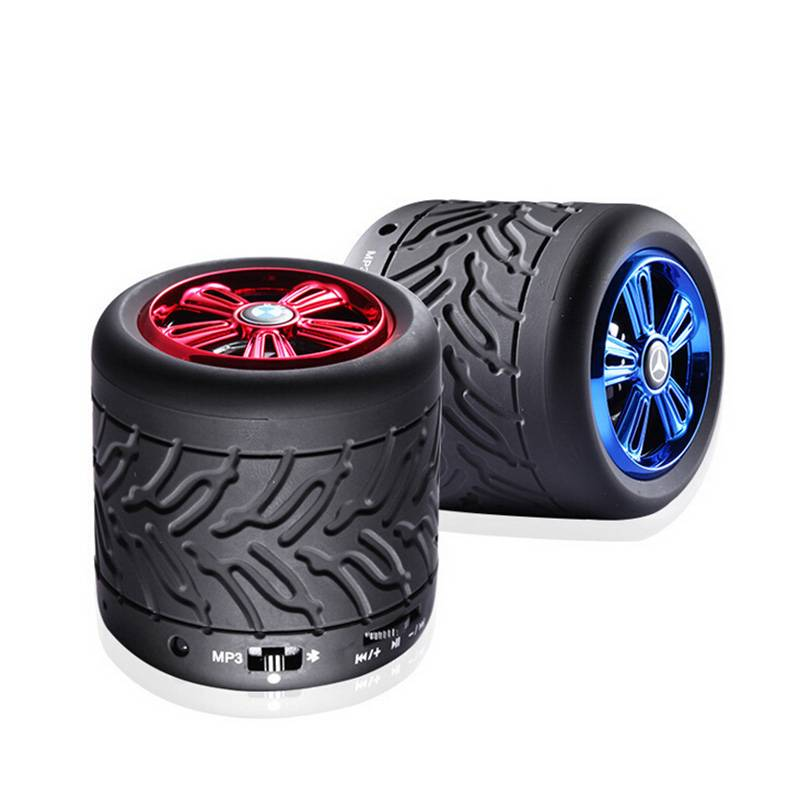 Tyre & Tires Shape Bluetooth Speaker