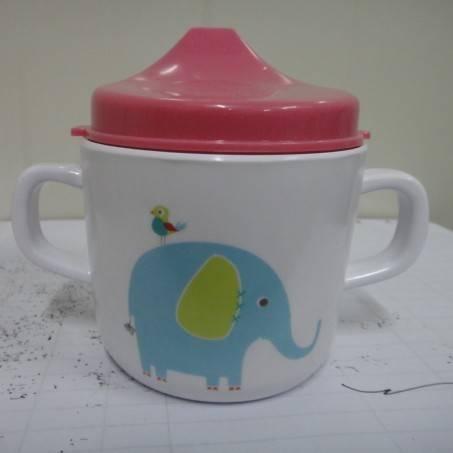 Melamine kid muzzle mug