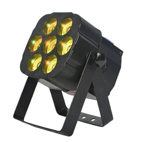 7X15W RGBW LED Beam Par Light