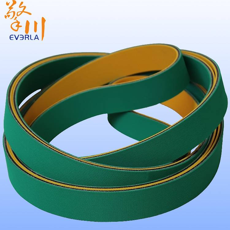 Green Packaging Films Wholesale Rubber Industrial Belt Flat Belt High Speed Synchronous Belt Custom