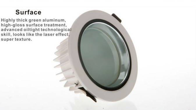 12W Ultra thin LED Downlight
