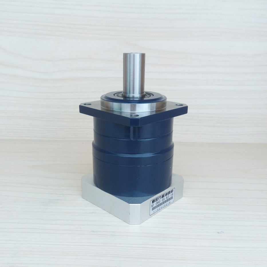 HS-AF-060-10-K5-14 High Precision Hong Sen Helical Planetary Gearbox