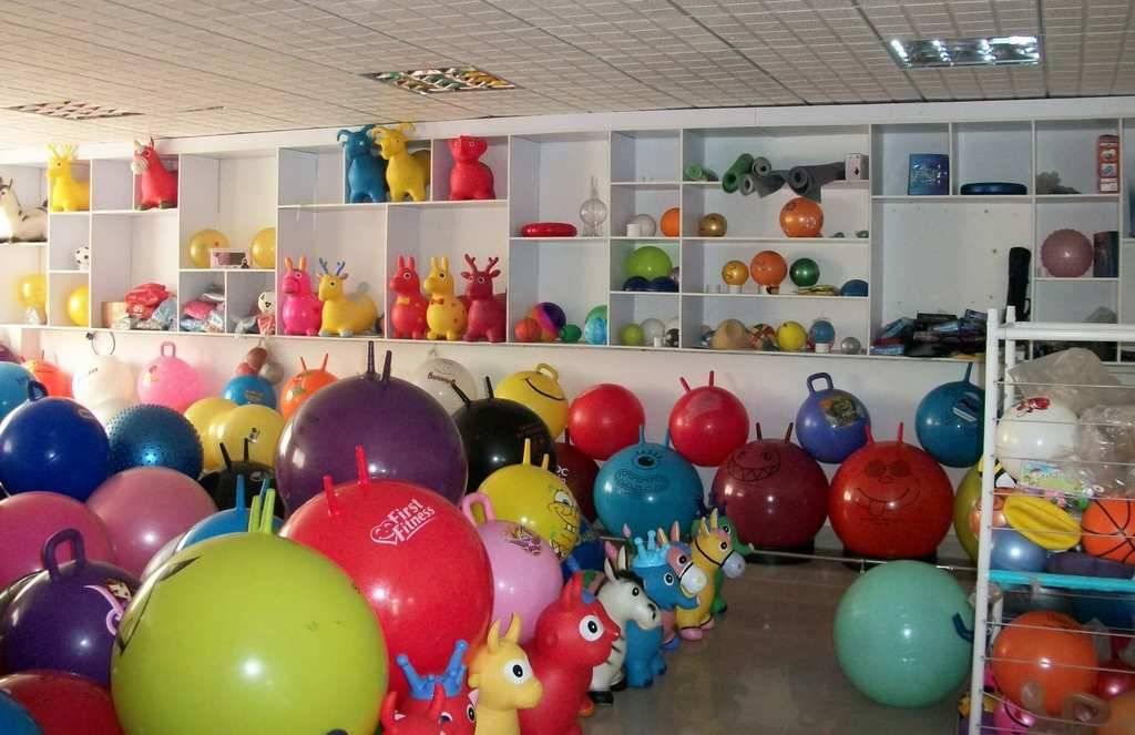inflatable pvc gym sports massage ball