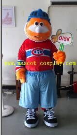 OISK Professional custom mascot costume hockey boy mascot adult size