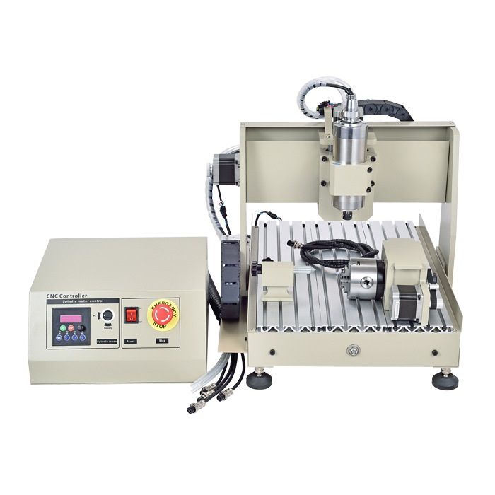 Automatic New Design 4 Axis 3040Z 600W CNC Engraver with MACH3 Handwheel