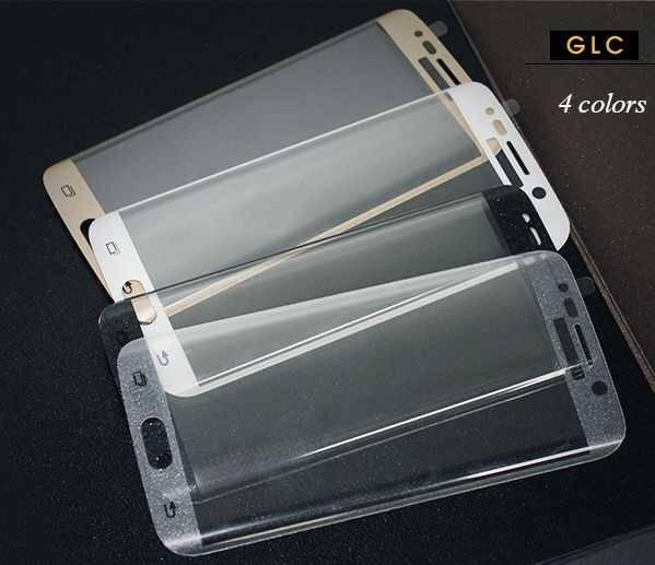 Tempered glass screen protector 6 edge glass full screen