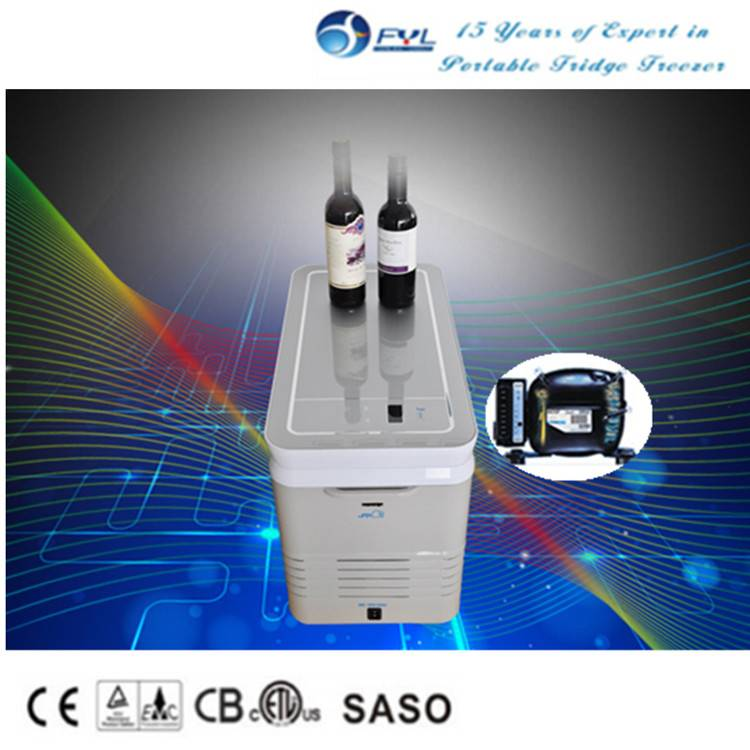 Mini campinng compressor freezer