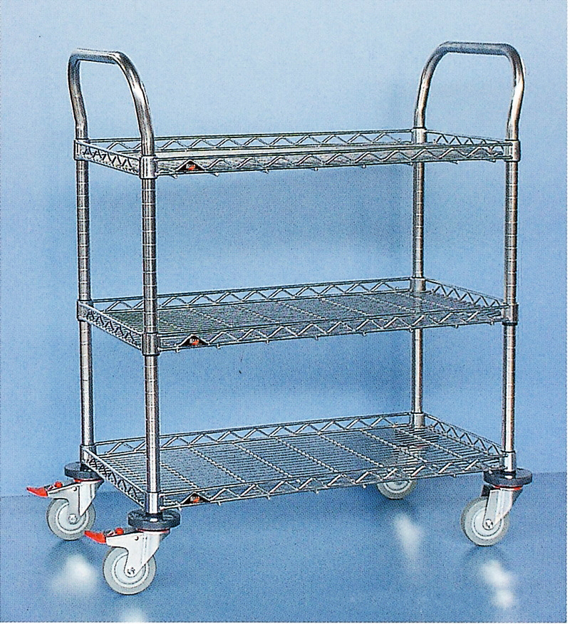 Stainless steel cart Material Shelf